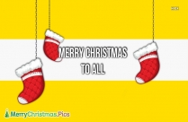 Stampin Up Merry Christmas To All