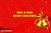 Sparkling Happy Christmas Wishes