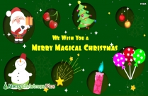 We Wish You A Merry Magical Christmas Image