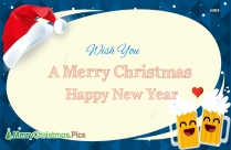 Wish You A Merry Christmas And A Happy New Year