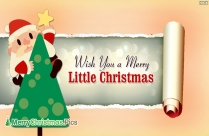 Wish You A Merry Little Christmas