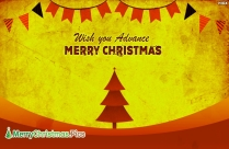 Happy Christmas In Advance