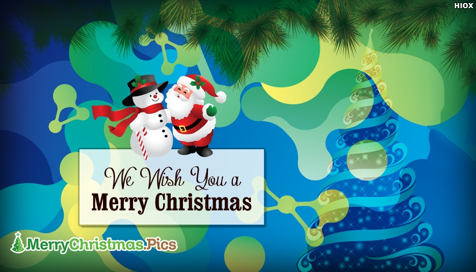 We Wish You A Merry Christmas Ecard