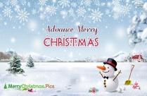 Advance Merry Christmas 2020